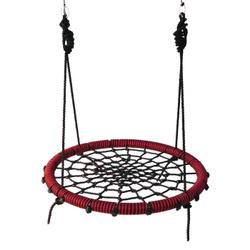 Качели гнездо паутинка IgraGrad 100 красно-черные. Хиты продаж