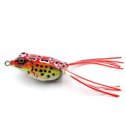 Лягушка ( незацепляйка ) силиконовая для ловли щуки (4,5 см, 6 г). Товары для рыбалки