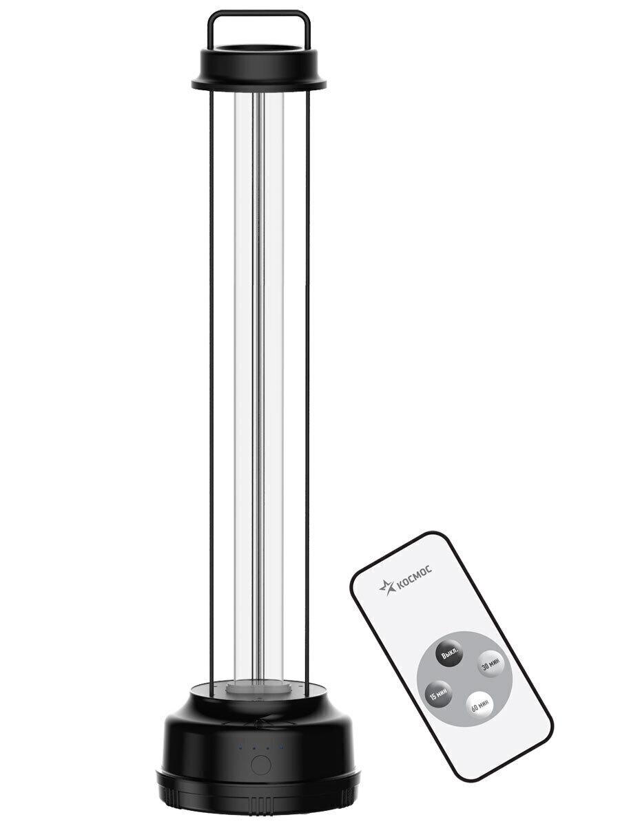 светильник ультрафиолетовый космос koс_uvg 55w для помещений до 60м3. без озоновые, пду в комплекте уцененный товар (№2)